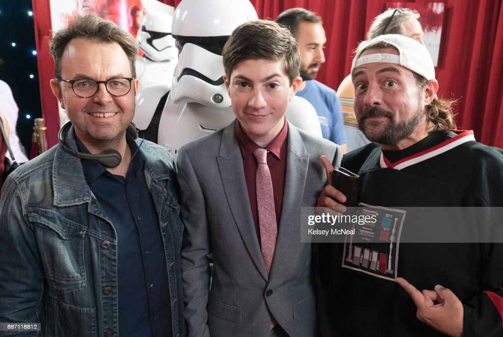 SPEECHLESS - 'S-T--STAR W--WARS W--ARS' - Two tickets to the premiere of Star Wars: The Last Jedi promise a glorious night for JJ and Ray until JJs pulled to the dark side by a pretty classmate who hopes to take Rays ticket. Back at home, Maya, Jimmy and Dylan enjoy a rare night at home without the boys. Meanwhile, Kenneths secret after-hours hangout at Lafayette is compromised when Dr. Miller discovers his late-night escapades, onSpeechless, WEDNESDAY, DEC. 6 (8:30-9:00 p.m. EST), on The ABC Television Network. , MASON