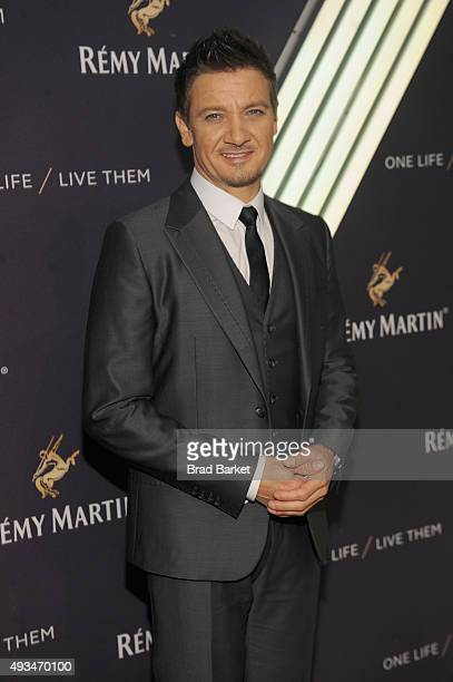 Two time Academy Award Nominee two time Academy Award Nominee Jeremy Renner attends One Life/Live Them presented by Remy Martin and Jeremy Renner on...