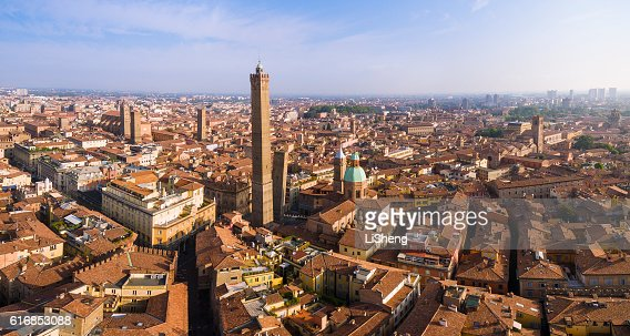 Two Towers, Bologna : Stock Photo
