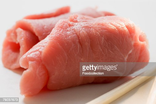Two veal roulades (close-up) : Stock Photo