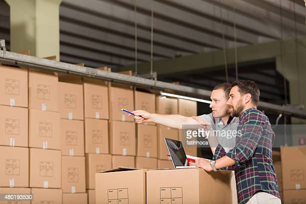 Two Warehouse Worker