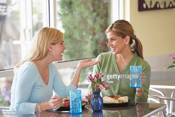 Two Women in a Snack Bar