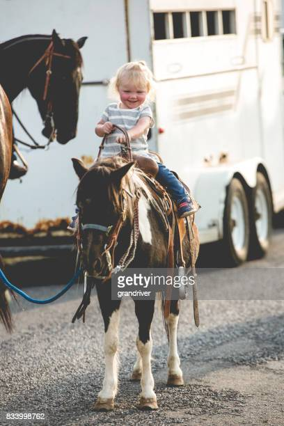 Two Year Old Cowgirl