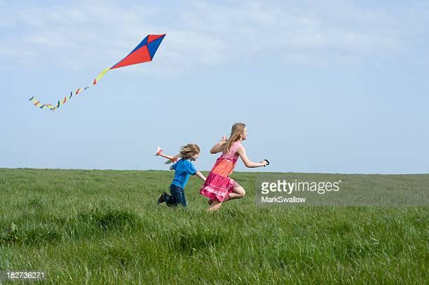 Kite volando