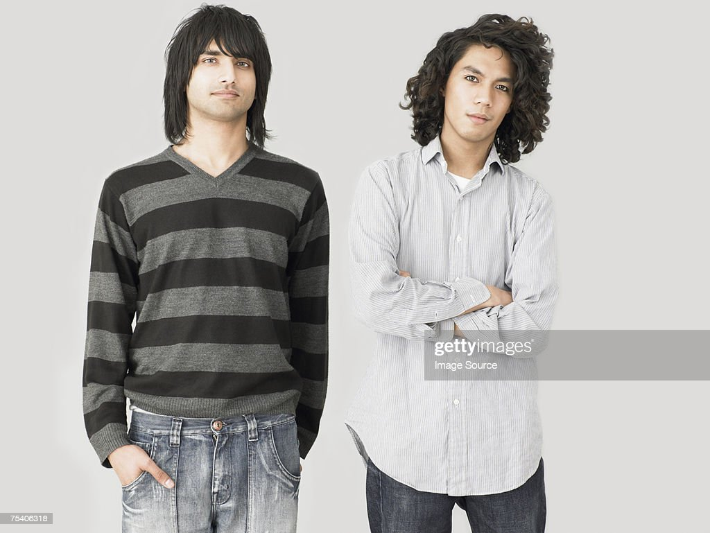 Two young men : Stock Photo
