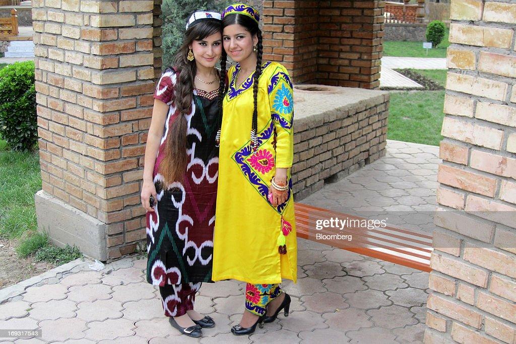 Что носят женщины в таджикистане