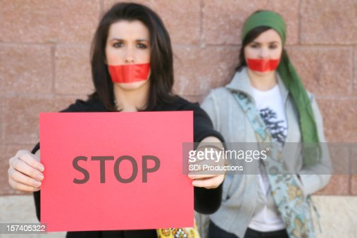 Two Young Women Standing For What They Believe In