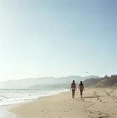 Will Rogers Beach, Los Angeles, California, USA