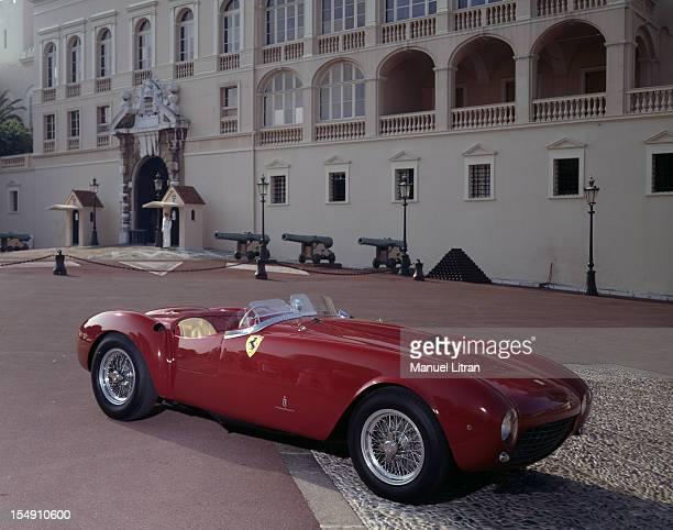 A twoseater sports car Ferrari 250 MM