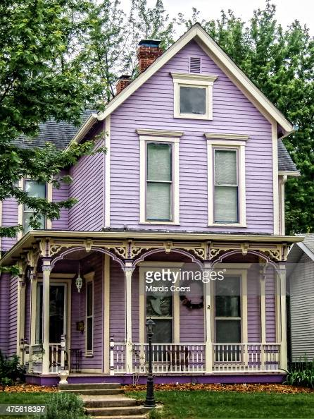 American suburban houses pictures getty images for Double storey victorian homes
