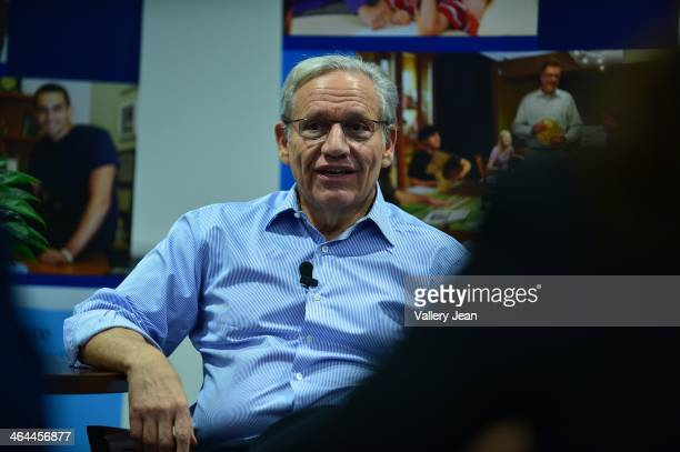 Twotime Pultizer Prize winning author and journalist Bob Woodward speaks at Broward College's A Hugh Adams Central Campus Institue of public safety...