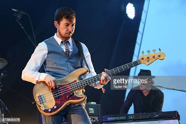 TwoTone Tommy of My Morning Jacket performs during Hangout Music Festival 2015 on May 17 2015 in Gulf Shores Alabama