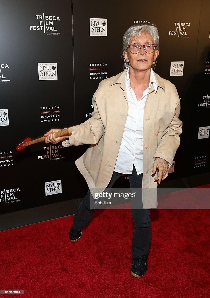<a gi-track='captionPersonalityLinkClicked' href=/galleries/search?phrase=Twyla+Tharp&family=editorial&specificpeople=240431 ng-click='$event.stopPropagation()'>Twyla Tharp</a> attends Tribeca Disruptive Innovation Awards on April 26, 2013 in New York City.