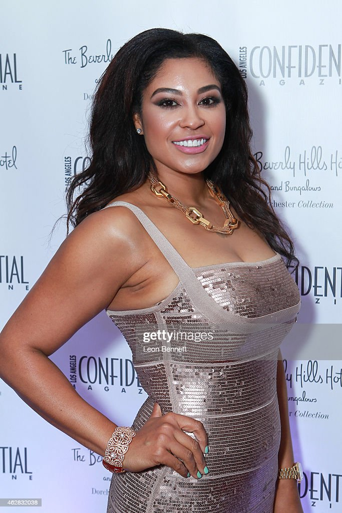Twyoa Betha attended the Los Angeles Confidential Grammy Weekend Kickoff Party at Beverly Hills Hotel on February 5, 2015 in Beverly Hills, California.