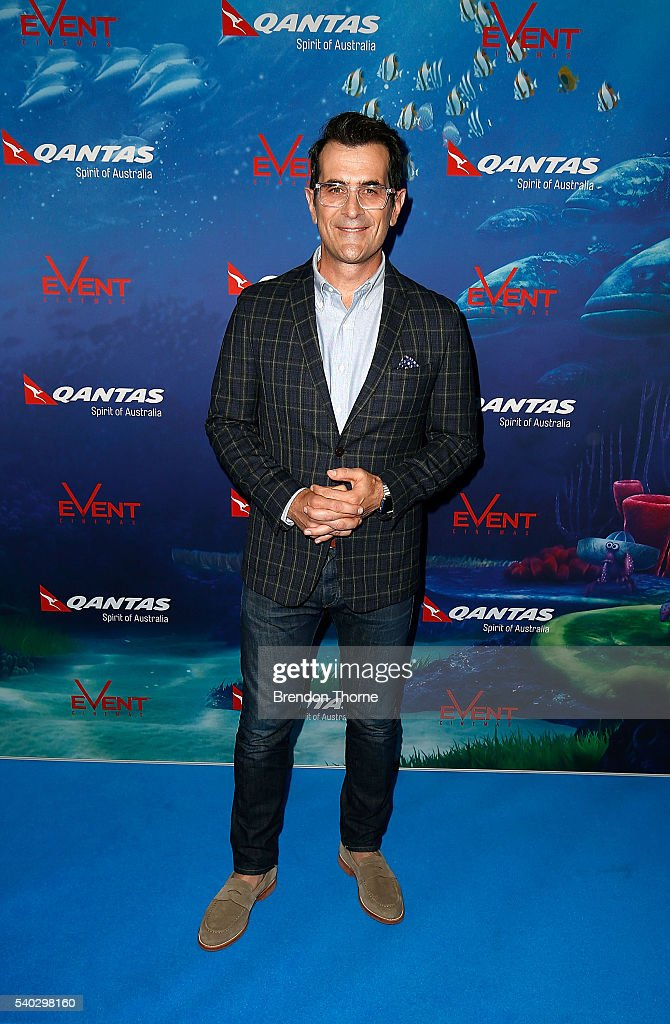 Ty Burrell arrives ahead of the Finding Dory Australian Premiere at Event Cinemas George Street on June 15 2016 in Sydney Australia
