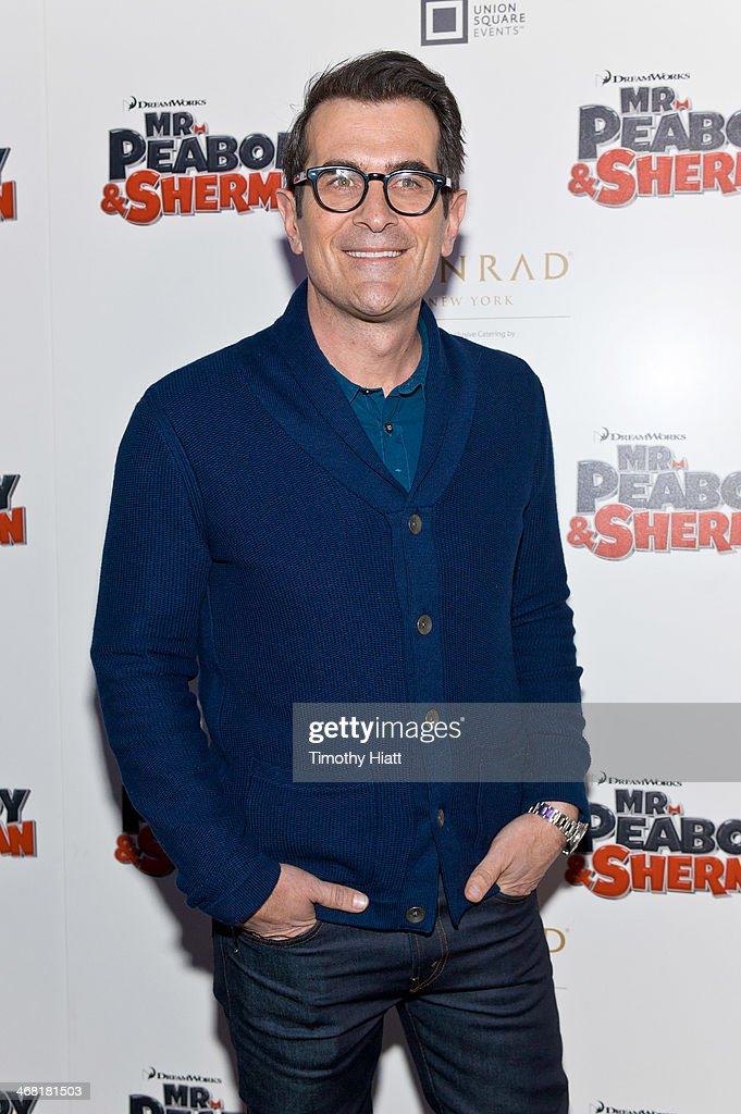 Ty Burrell attends the screening of DreamWorks' 'Mr Peabody And Sherman' hosted by DreamWorks Animation with 20th Century Fox and Union Square Events...