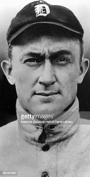 UNDATED Ty Cobb of the Detroit Tigers poses for a portrait before a game Ty Cobb played for the Detroit Tigers from 19051926