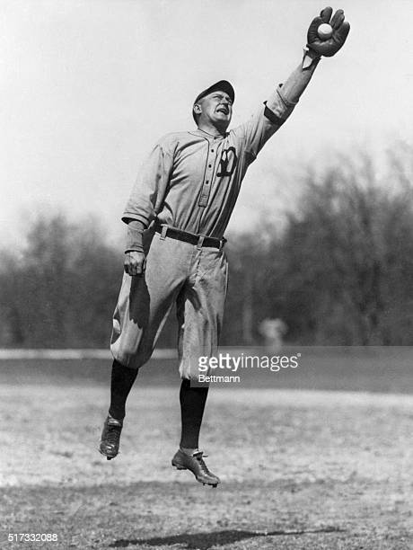Ty Cobb one of baseball's greatest base runners died July 17 1961 at Emory University Hospital in Atlanta Cobb who was 74 years old is shown reaching...