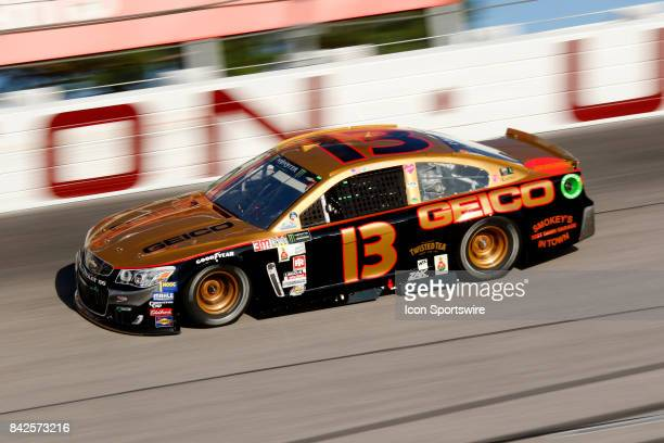 Ty Dillon Germain Motorsports GEICO Chevrolet SS during the Bojangles Southern 500 on September 3 at Darlington Raceway in Darlington SC