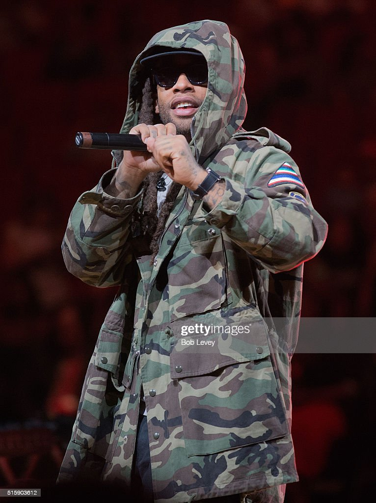 Ty Dolla $ign performs at the SWAC Tournament post game concert at Toyota Center on March 12 2016 in Houston Texas