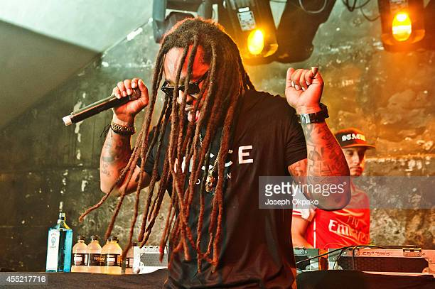 Ty Dolla $ign performs on stage at XOYO on September 10 2014 in London United Kingdom