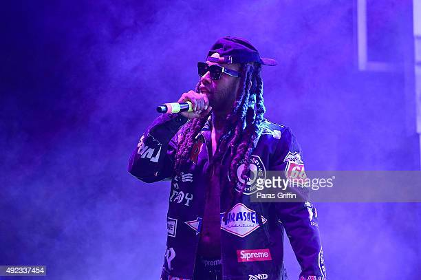 Ty Dolla $ign performs onstage on at A3C Festival Conference on October 11 2015 in Atlanta Georgia