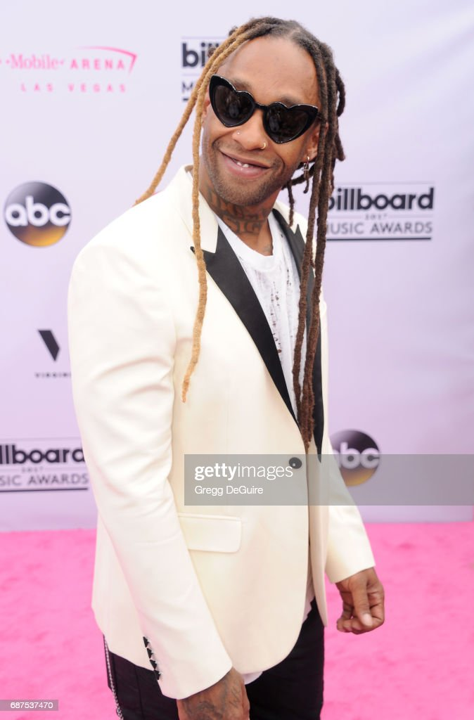Ty Dolla Sign arrives at the 2017 Billboard Music Awards at T-Mobile Arena on May 21, 2017 in Las Vegas, Nevada.