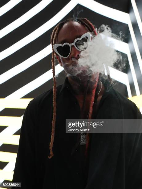 Ty Dolla Sign at the InstaBooth at the 2017 BET Awards at Microsoft Square on June 25 2017 in Los Angeles California