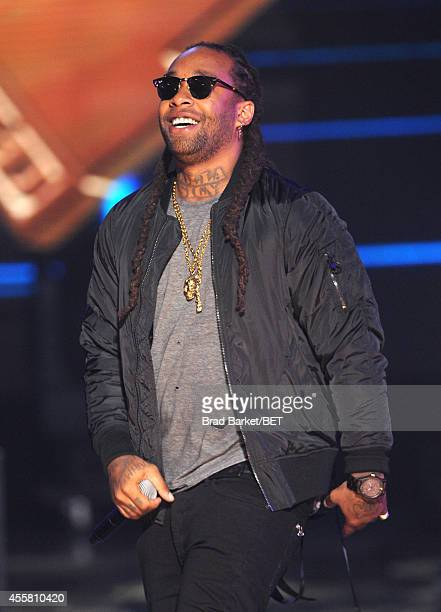 Ty Dolla Sign performs onstage at the BET Hip Hop Awards 2014 at Boisfeuillet Jones Atlanta Civic Center on September 20 2014 in Atlanta Georgia