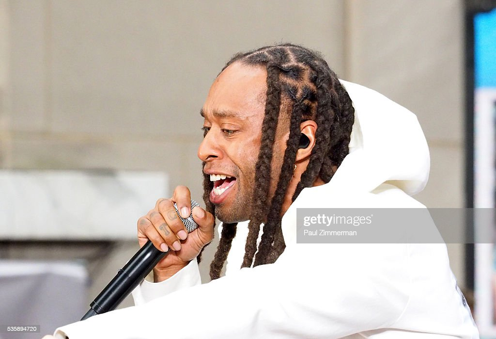 Ty Dolla Sign performs with Fifth Harmony on NBC's 'Today' at Rockefeller Plaza on May 30, 2016 in New York City.