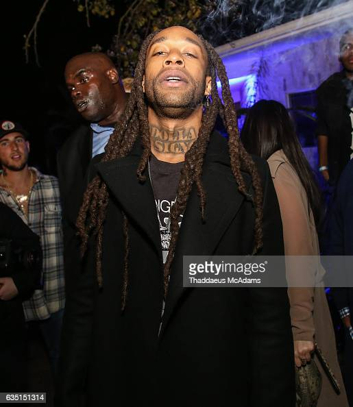 Ty Dolla Sign poses for a picture at The Friends Keep Secrets Grammy After Party on February 12 2017 in Beverly Hills California