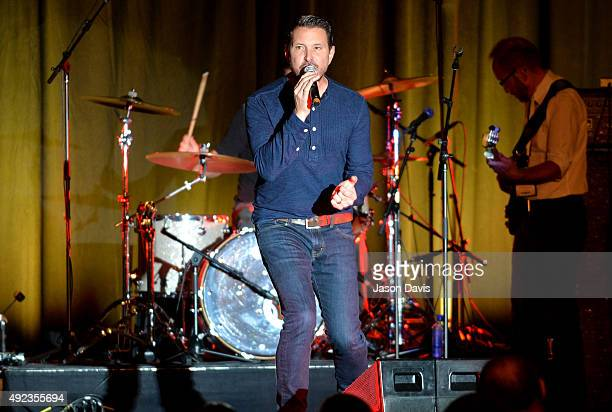 Ty Herndon performs onstage at the Buddy Lee Attractions Showcase during the IEBA 2015 Conference Day 2 on October 12 2015 in Nashville Tennessee