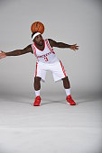 Ty Lawson of the Houston Rockets poses for a photo during NBA Media Day at the Toyota Center on September 28 2015 in Houston Texas NOTE TO USER User...
