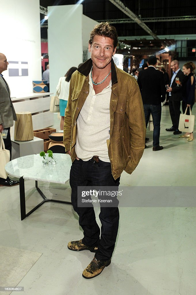 <a gi-track='captionPersonalityLinkClicked' href=/galleries/search?phrase=Ty+Pennington&family=editorial&specificpeople=241576 ng-click='$event.stopPropagation()'>Ty Pennington</a> attends WestEdge Design Fair at Barker Hangar on October 3, 2013 in Santa Monica, California.