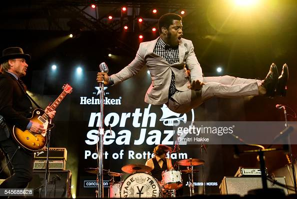 Ty Taylor of Vintage Trouble performs on stage on July 8 2016 at Ahoy in Rotterdam Netherlands