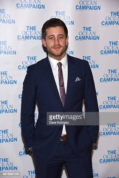 Ty Wood attends The Ocean Campaign Launch Gala at Capitale on January 20 2015 in New York City