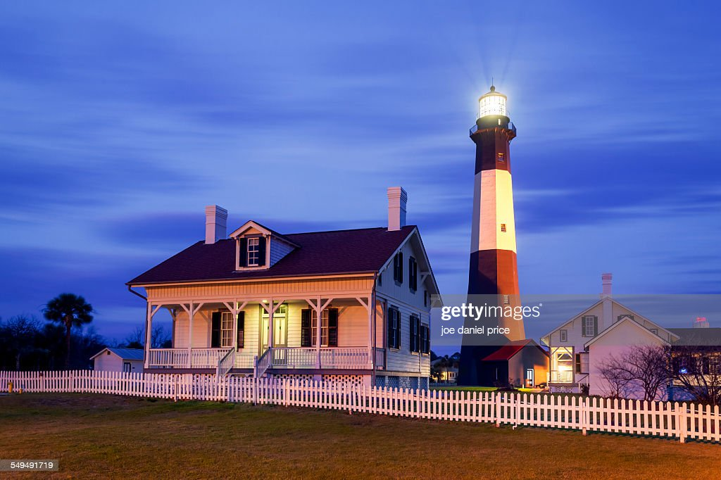 Tybee Island Lighthouse, Savannah, Georgia, US