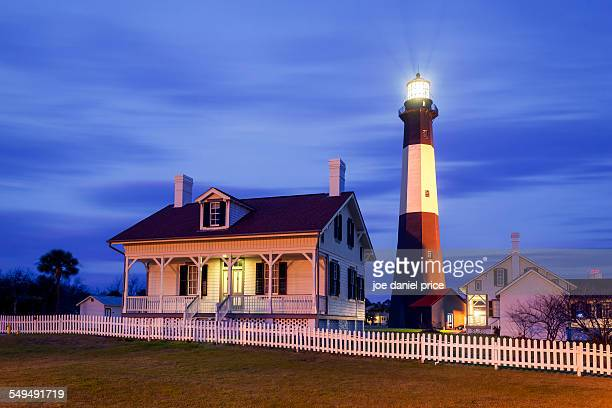 Tybee Island Lighthouse, Savannah, Georgia, US