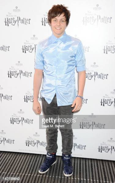 Tyger Drew Honey attends the Grand Opening of the Warner Bros Studio Tour London The Making of Harry Potter on March 31 2012 in Watford England