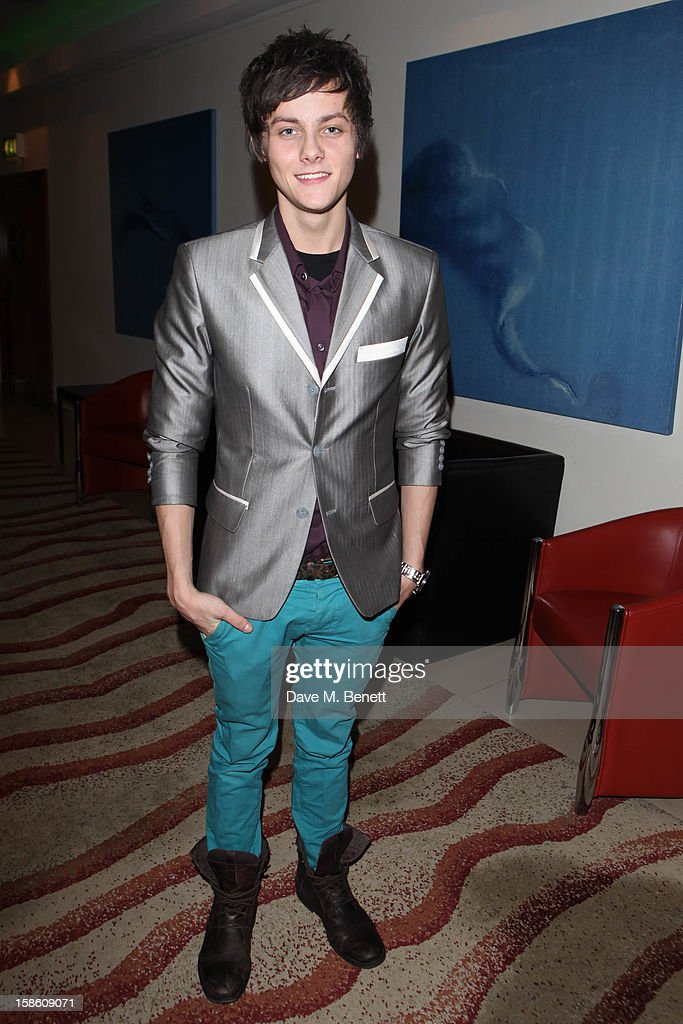 Tyger Drew-Honey attends the afterparty for the new cast members of 'Wicked' at the Victoria Plaza Hotel on December 20, 2012 in London, England.