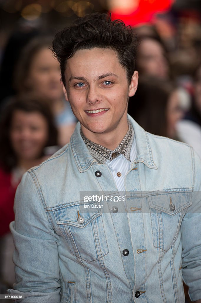 Tyger Drew-Honey attends the UK Premiere of 'All Stars' at the Vue West End cinema on April 22, 2013 in London, England.