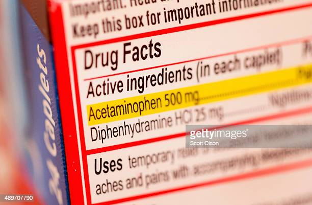 Tylenol which contains acetaminophen is shown on April 14 2015 in Chicago Illinois New research has shown that acetaminophen which is found in many...