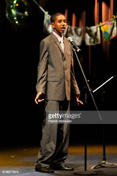 tyler attends The East Harlem School presents 2010 Spring Poetry Slam at Highline Ballroom on May 4 2010 in New York City