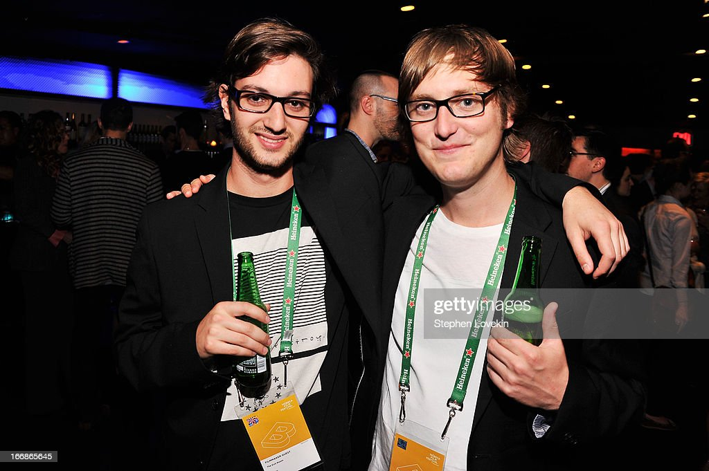 Tyler Ben-Amotz and flmmaker Todd Wiseman Jr attend the Opening Night After Party and Performance during the 2013 Tribeca Film Festival on April 17, 2013 in New York City.