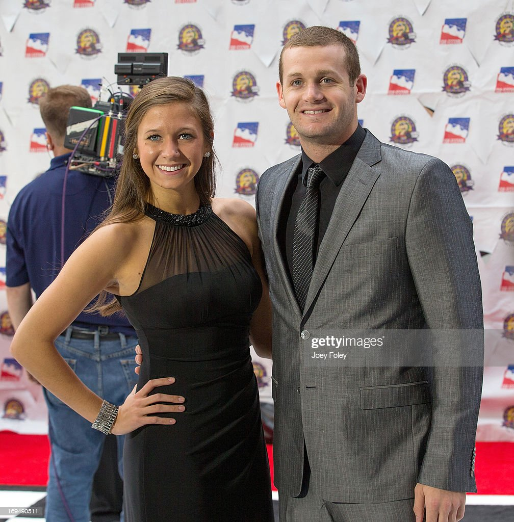 <a gi-track='captionPersonalityLinkClicked' href=/galleries/search?phrase=Tyler+Clary+-+Swimmer&family=editorial&specificpeople=5419589 ng-click='$event.stopPropagation()'>Tyler Clary</a> (R) attends the 2013 Indy 500 Snakepit Ball at Indiana Roof Ballroom on May 25, 2013 in Indianapolis, Indiana.