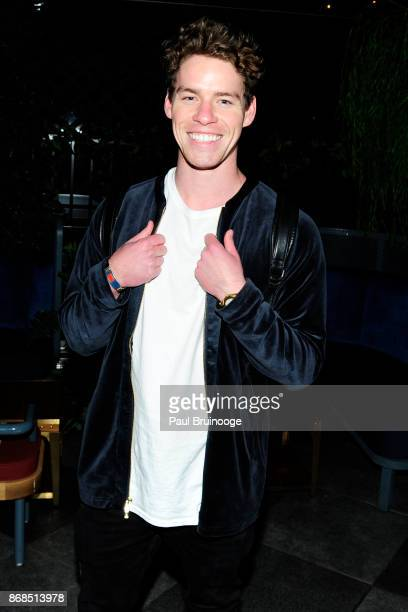 Tyler Clinton attends The Cinema Society with FIJI Water Men's Journal and Synchrony host the after party for Marvel Studios' 'Thor Ragnarok' at...