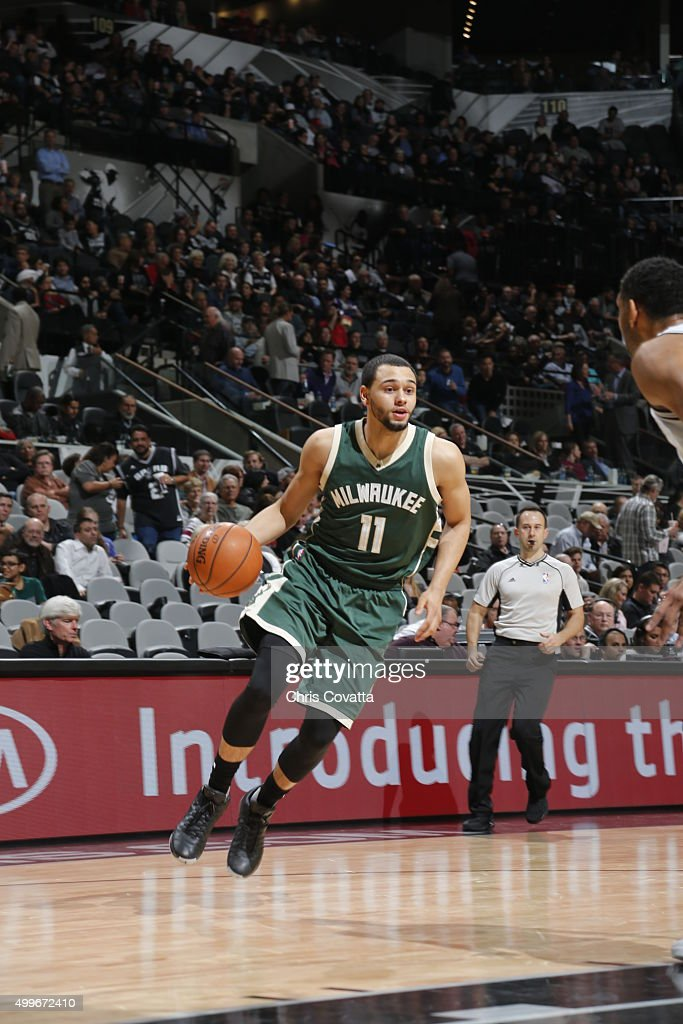 Milwaukee Bucks v San Antonio Spurs