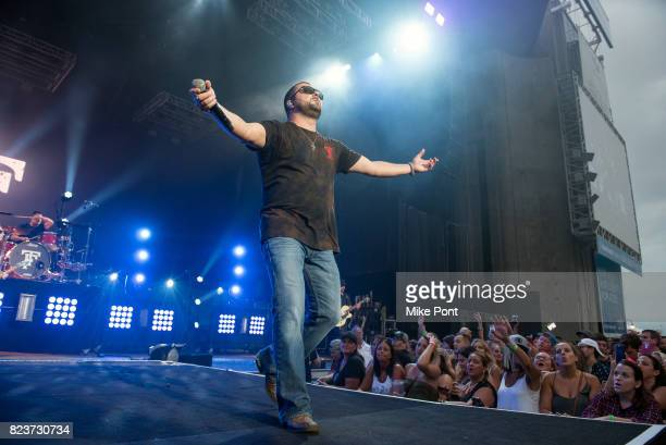 Tyler Farr performs at Northwell Health at Jones Beach Theater on July 27 2017 in Wantagh New York