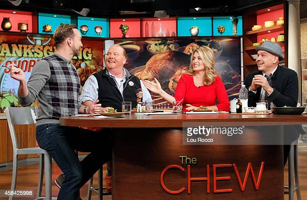 THE CHEW Tyler Florence is the guest today Tuesday November 4 2014 on ABC's 'The Chew' 'The Chew' airs MONDAY FRIDAY on the ABC Television Network...