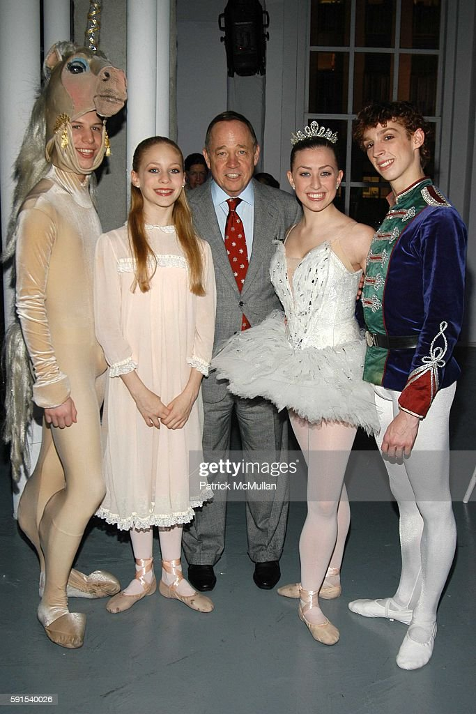 Tyler Galster Tara Sorene Fred Wilson Lara Clemmings and Andrew Daly attend SAKS FIFTH AVENUE Snowflake Spectacular Holiday Window Unveiling at Saks...